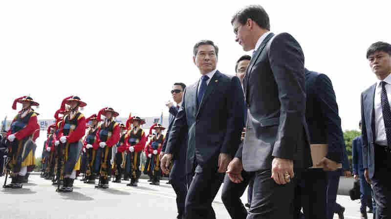 Defense Chief Esper Wraps Up Asia Trip As Alliance Comes Under Pressure