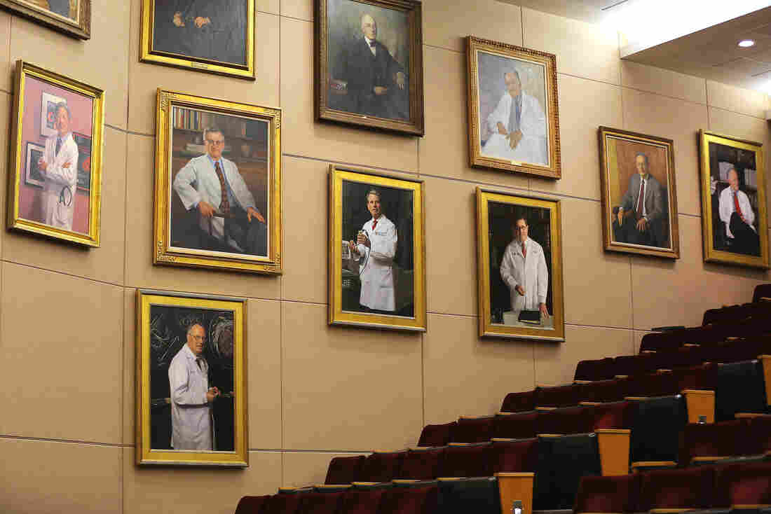 Academia Uneasy With Lack Of Diversity On 'Dude Walls' Honor' : Shots