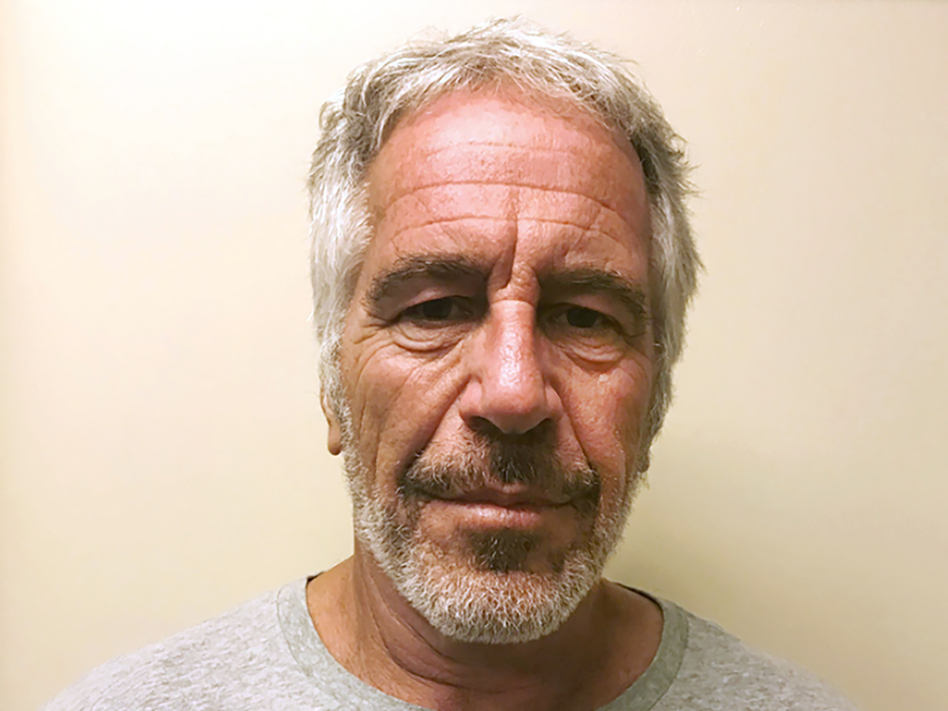 This March 28, 2017, photo, provided by the New York State Sex Offender Registry, shows Jeffrey Epstein. Epstein has died while awaiting trial on sex-trafficking charges. (AP)