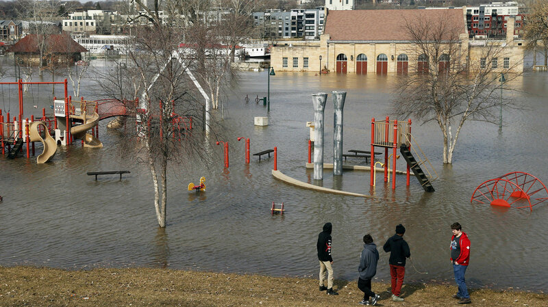 Wet, Wild And High: Lakes And Rivers Wreak Havoc Across