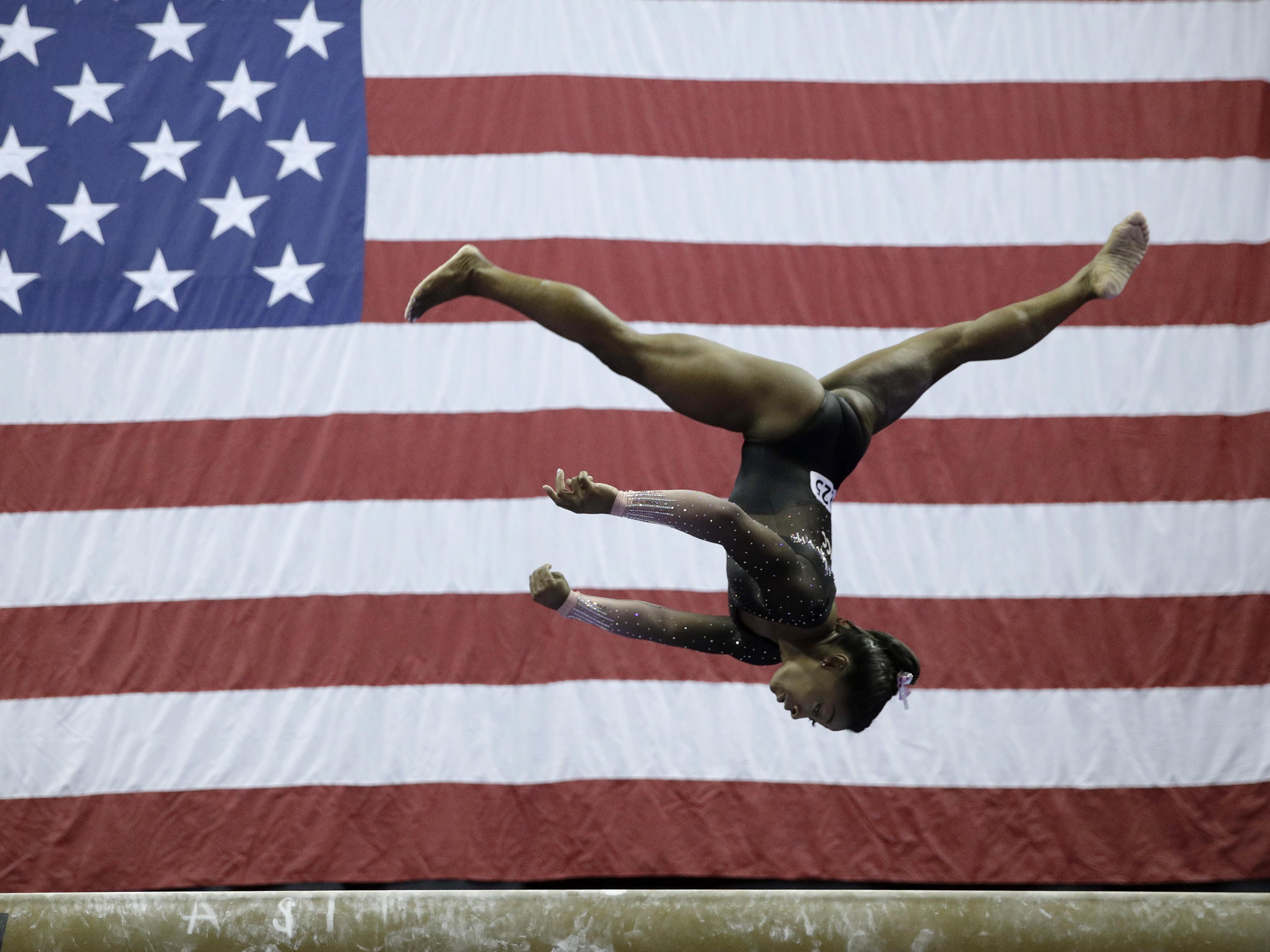 Simone Biles Earns 6th U.S. All-Around Gymnastics Title With Historic Triple-Double