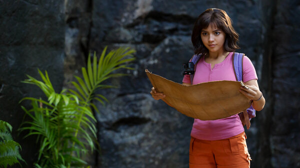 Isabela Moner stars as Dora in Dora and the Lost City of Gold.