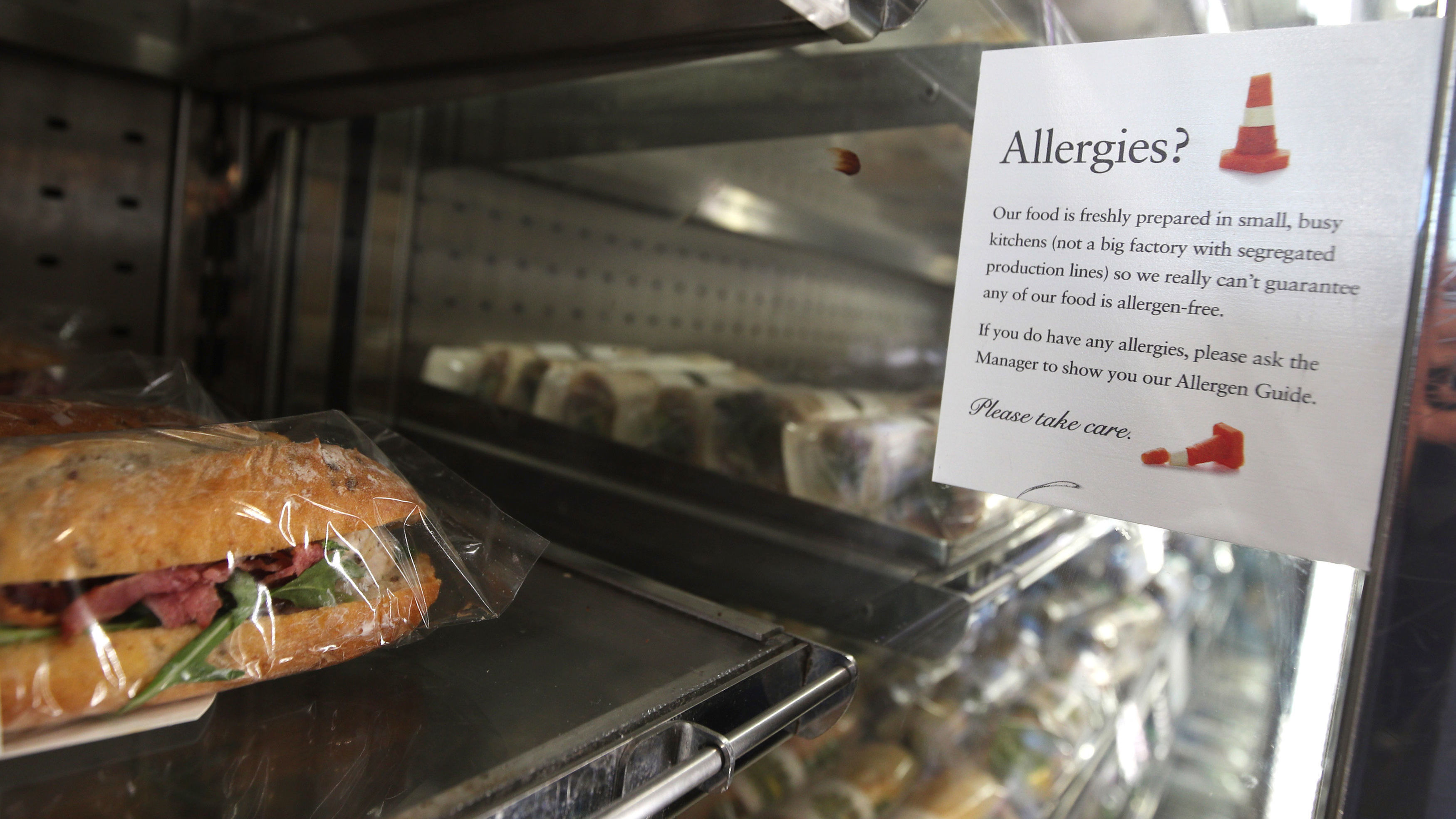 Why European Restaurants Are Much More Vigilant About Food Allergies
