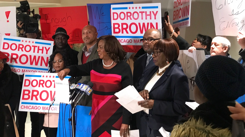 Circuit Court Clerk Dorothy Brown's Campaign Fund Is Skimpy