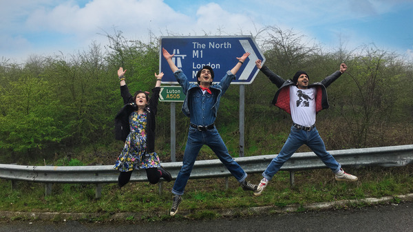 Come on, rise up! Blinded by the Light follows first-generation British teen Javed (Viveik Kalra, center) as he discovers hope and Bruce Springsteen in 1980s Britain.