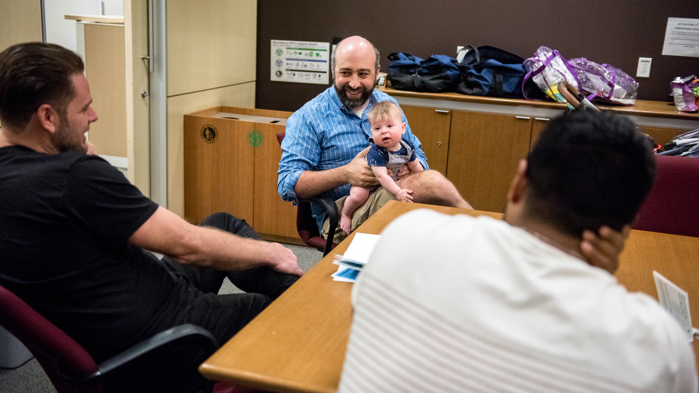 Prenatal 'Bootcamp' For New Dads Taught By Dads Helps Whole