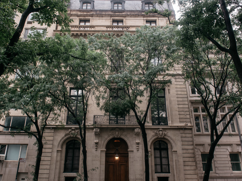 A lawsuit filed Wednesday in New York County Supreme Court alleged an associate of Jeffrey Epstein brought Jennifer Araoz to Epstein's mansion in Manhattan, where Araoz was sexually abused. (Scott Heins/Getty Images)
