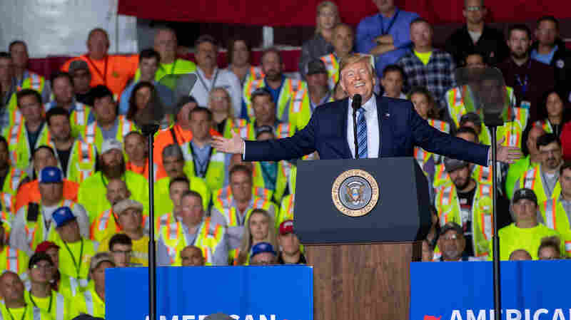 Democratic Candidates Call Trump A White Supremacist, A Label Some Say Is 'Too Simple'
