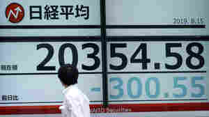 Asian, European Stocks Mixed After Recession Jitters Spark Sell-Off On Wall Street