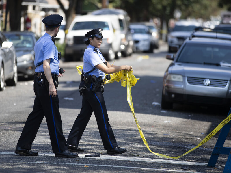 Philadelphia Police Officers Shot Or Otherwise Wounded In