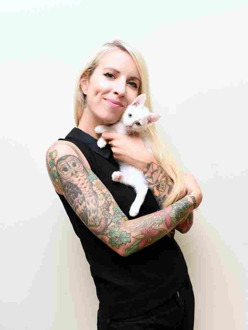 Lady Hannah Shaw's Kitten on