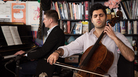 Kian Soltani plays a Tiny Desk Concert on March 8, 2019 (Amr Alfiky/NPR).