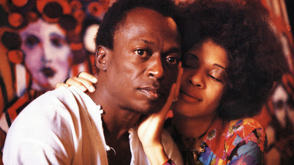 Miles and Betty Davis in color in Miles