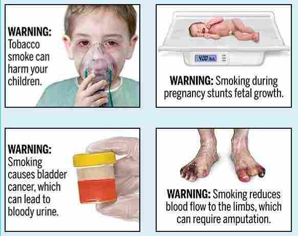 FDA Proposes Graphic Warning Labels For Cigarettes