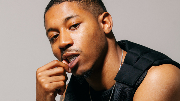 Boston rapper Cousin Stizz. His latest release, Searching For My Next Thrill, is on our shortlist for the best new albums out this week.