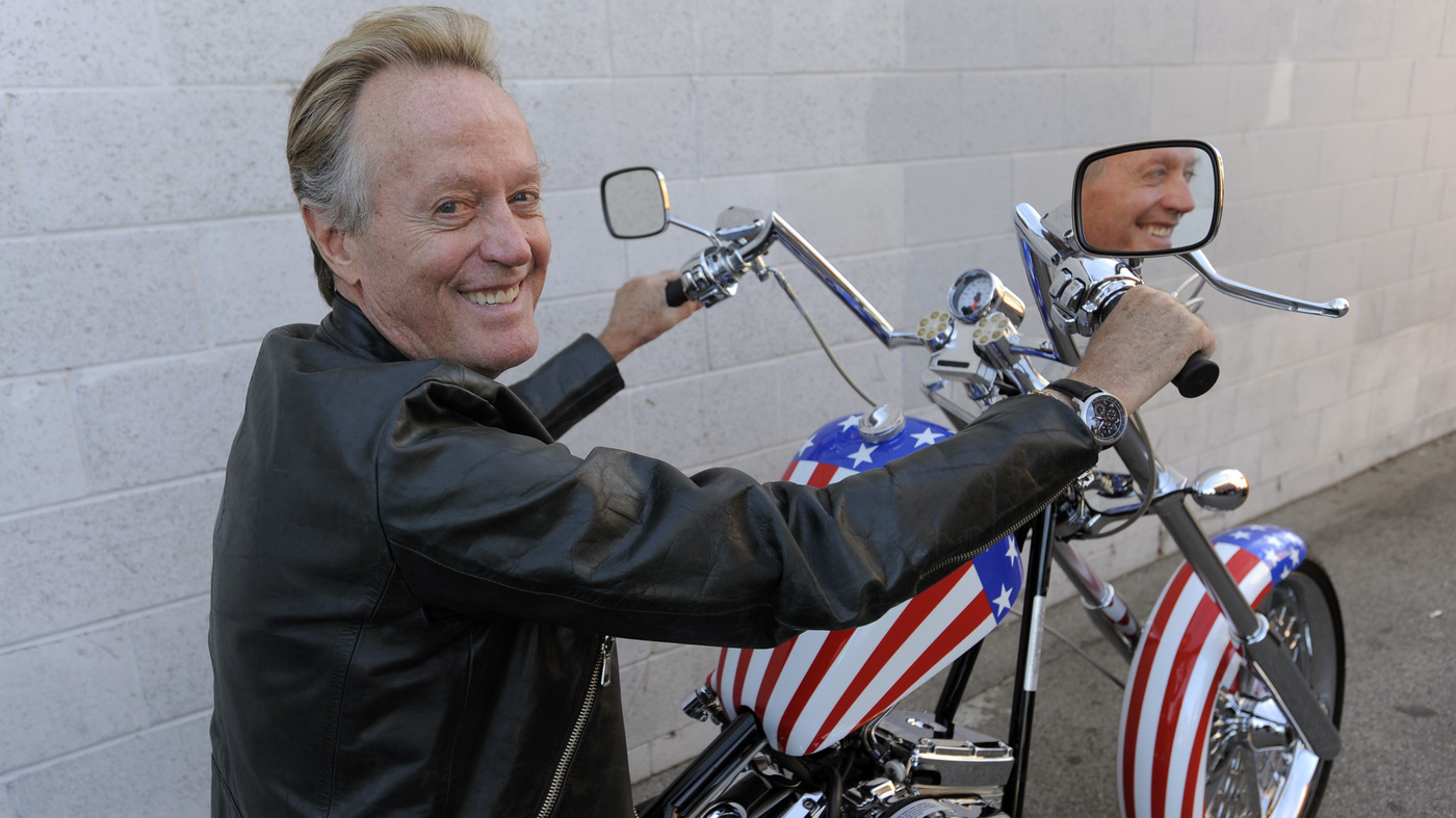 39 easy rider 39 actor peter fonda dies at 79 npr. Black Bedroom Furniture Sets. Home Design Ideas
