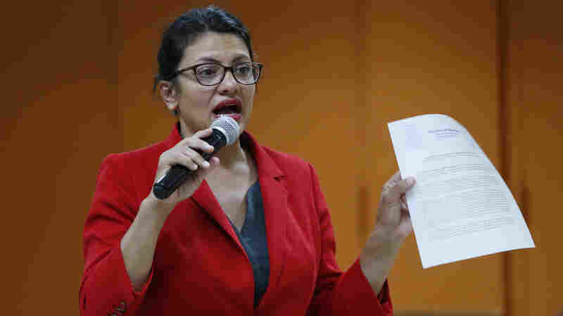 Rep. Rashida Tlaib Cancels Visit To Israel And The West Bank