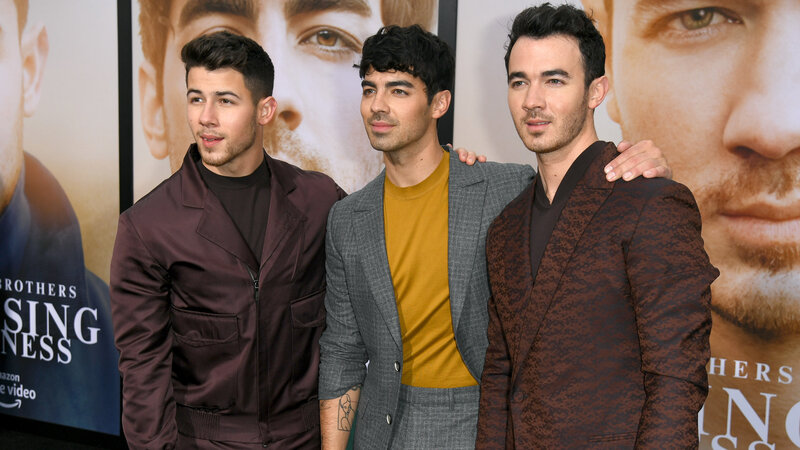 The Jonas Brothers On The Band...