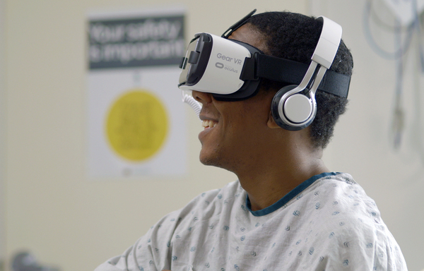 Cedars-Sinai Medical Center in Los Angeles has been testing the value of virtual reality devices in hospital settings for a number of years.