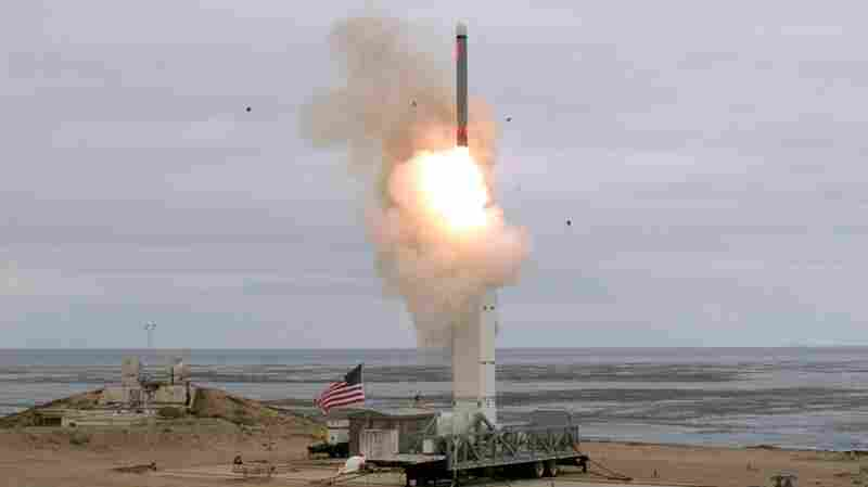 U.S. Tests Missile With A Range Prohibited By Now-Abandoned Treaty
