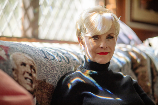 """Cindy McCain, widow of late Sen. John McCain, at home in Phoenix. She says she thinks Republicans and Democrats can get back to being more civil. """"I think it's going to take some time. There's a lot of healing to be done. But I think we can do it,"""" she says."""