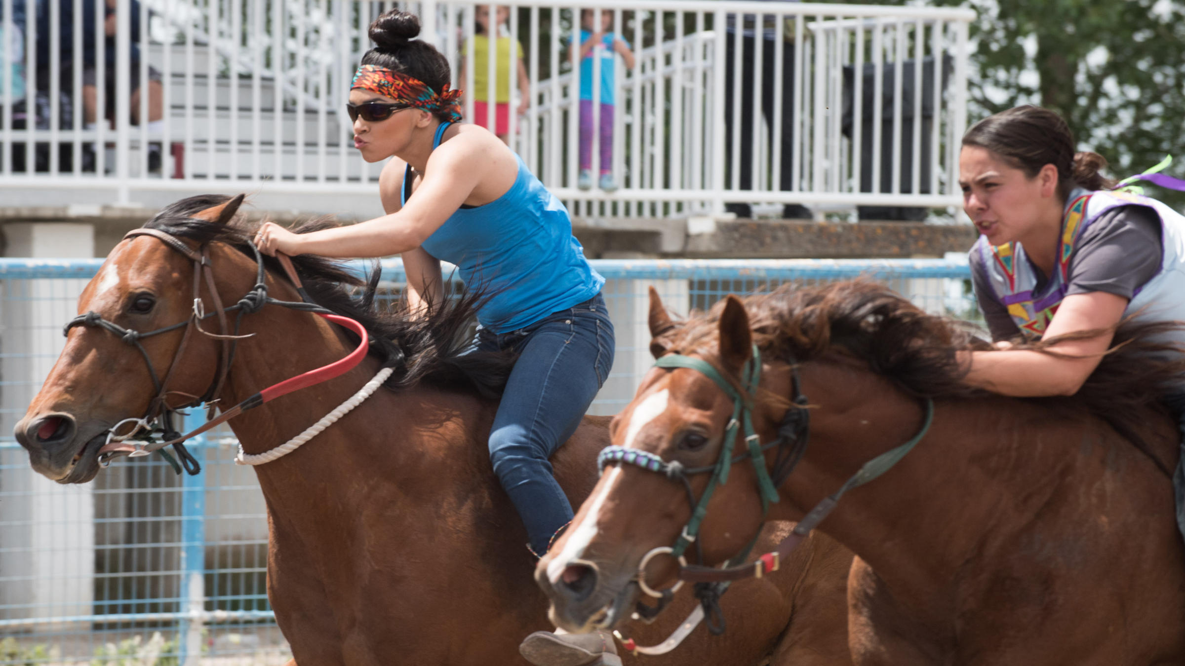 Indian Relay Celebrates History And Culture Through Horse Racing Npr