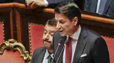 Italy's Premier Resigns In Fight Within His Coalition Government
