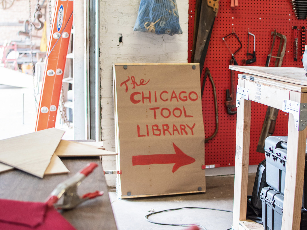 5 Unexpected Items You Can Borrow At Chicago's New Tool Library