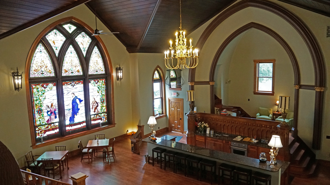 Houses Of Worship Find New Life After Congregations Downsize