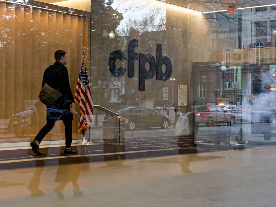 Robert Cameron will serve as the next student loan ombudsman at the Consumer Financial Protection Bureau, headquartered in Washington, D.C. (Bloomberg via Getty Images)