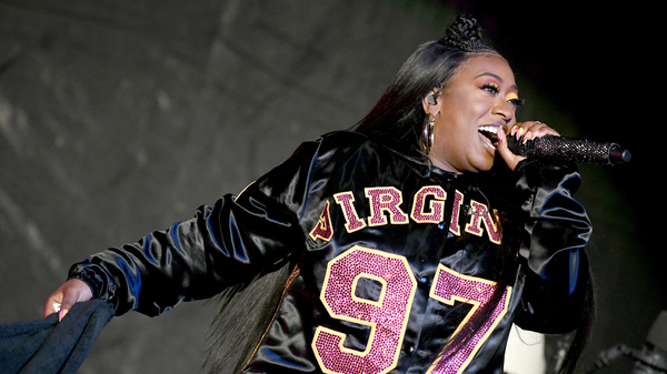 Missy Elliott performs onstage at Something in the Water Festival in April 2019 in Virginia Beach City. The rapper
