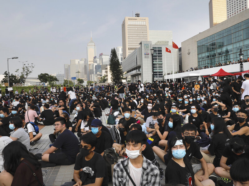 Tactics and methods surrounding the 2019 Hong Kong protests