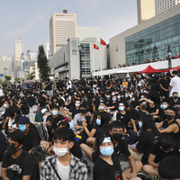 In Hong Kong, Moderate And Radical Protesters Join Forces To Avoid Past Divisions