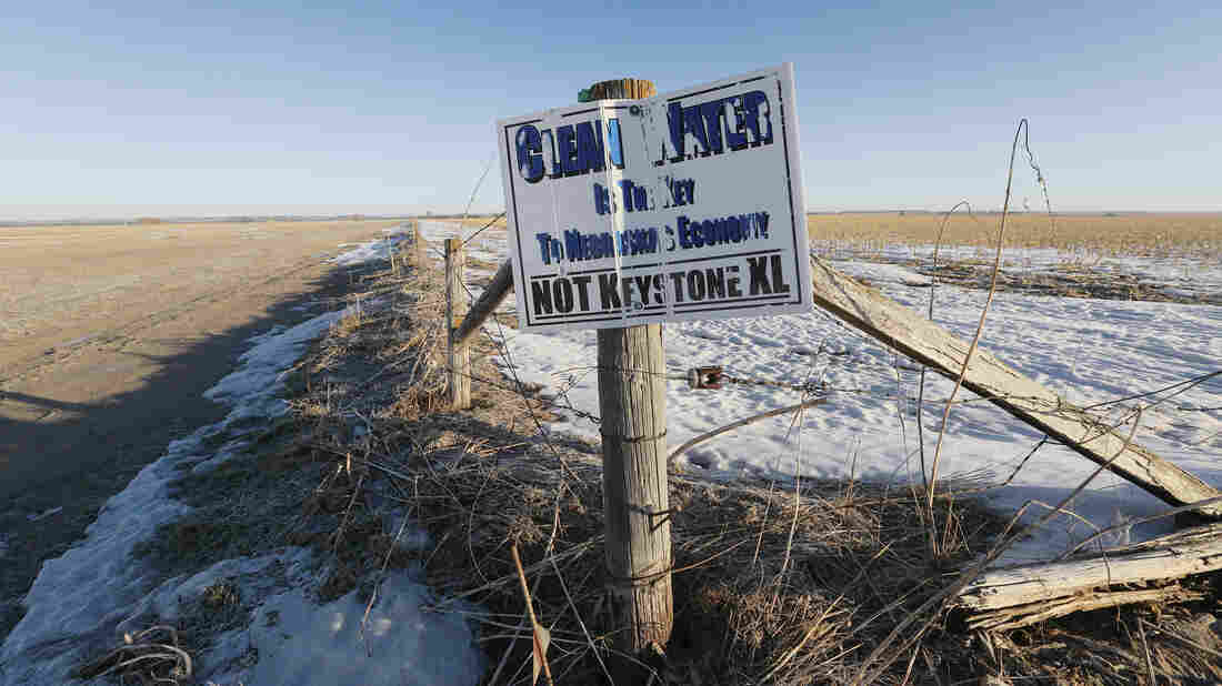 Keystone Pipeline Opponents Aren't Giving Up Despite A Nebraska Supreme Court Rulling