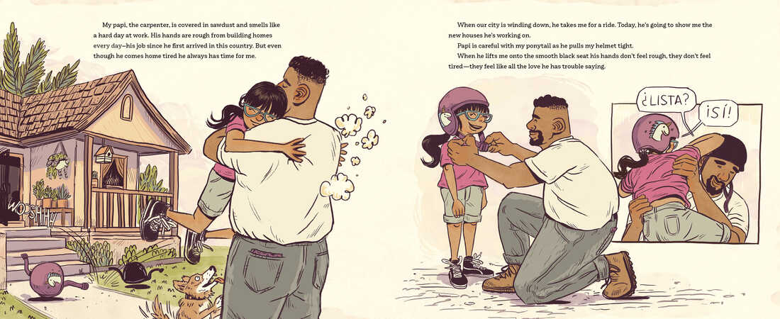 My Papi Has a Motorcycle, by Isabel Quintero and Zeke Peña