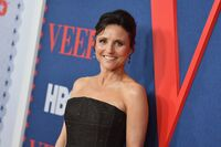 For her starring role as Vice President Selina Meyer in the seventh and final season of <em>Veep</em>, Julia Louis-Dreyfus recently received another Emmy Award nomination for outstanding lead actress in a comedy series. She won the award six years in a row from 2012-2017.