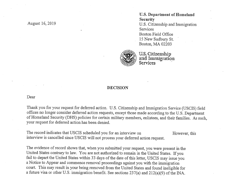Sample Letter Seeking Asylum In Usa from media.npr.org