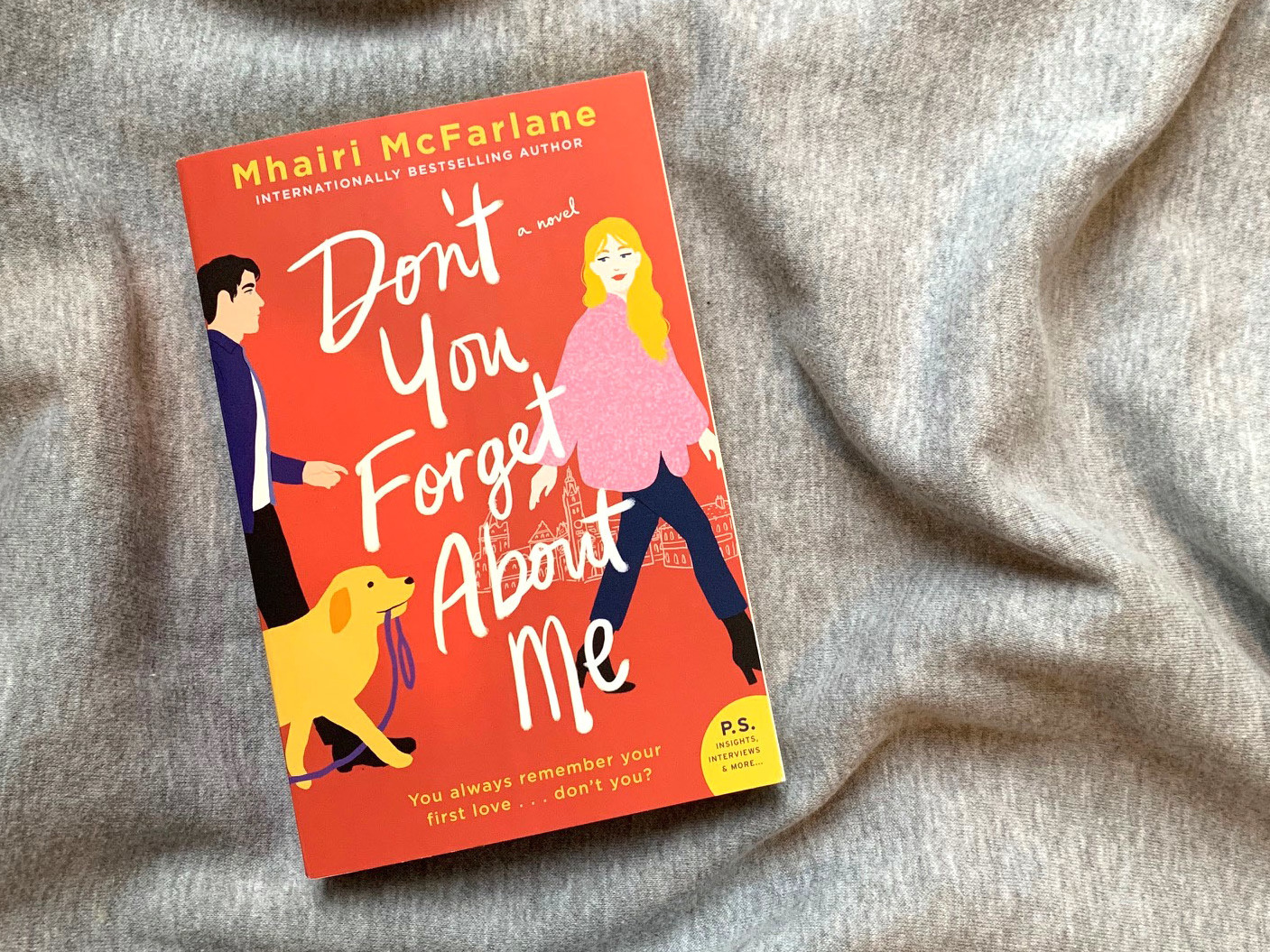 Don T You Forget About Me Review Mhairi Mcfarlane S Endearing Romance Npr
