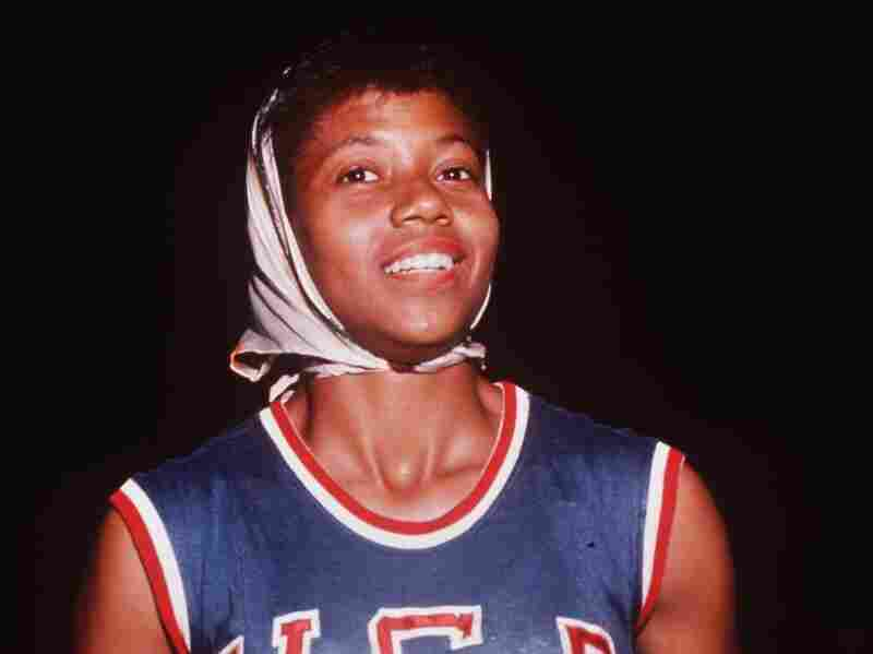 Wilma Rudolph at the Summer Olympics in Rome, Italy, where she won the 100 meter and 200 meter sprints in August 3, 1960. At the age of four she was diagnosed with polio and had to walk with a brace. Just twelve years later she won an Olympic medal at the 1956 Summer Olympics.
