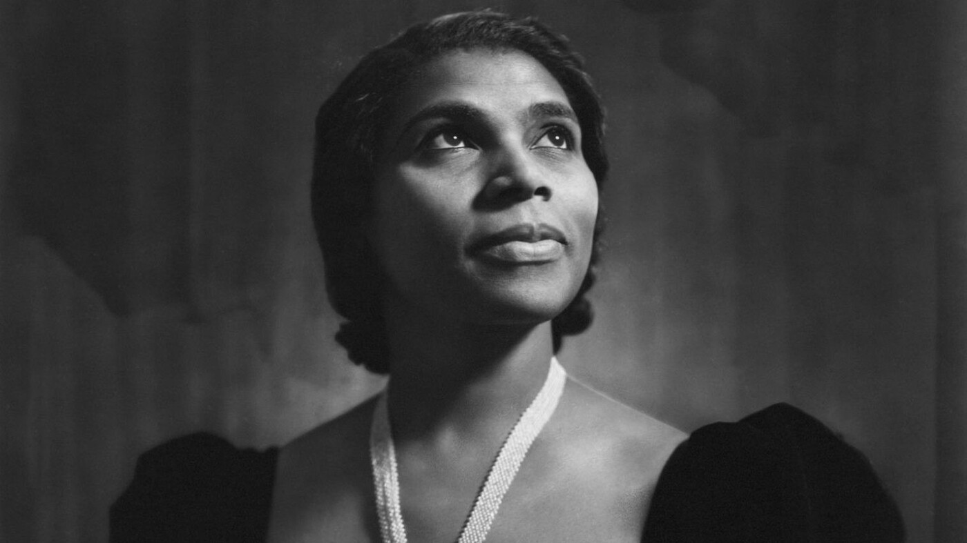 Listening For Marian Anderson In The Past And Present : NPR