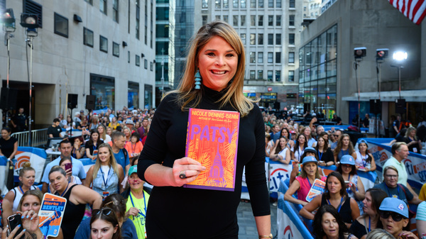 Jenna Bush Hager promotes her August book club pick, Patsy, by Nicole Dennis-Benn.