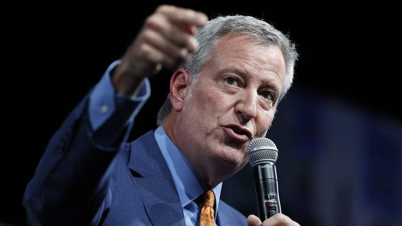 New York Election 2020.2020 Election Bill De Blasio Drops Out Npr