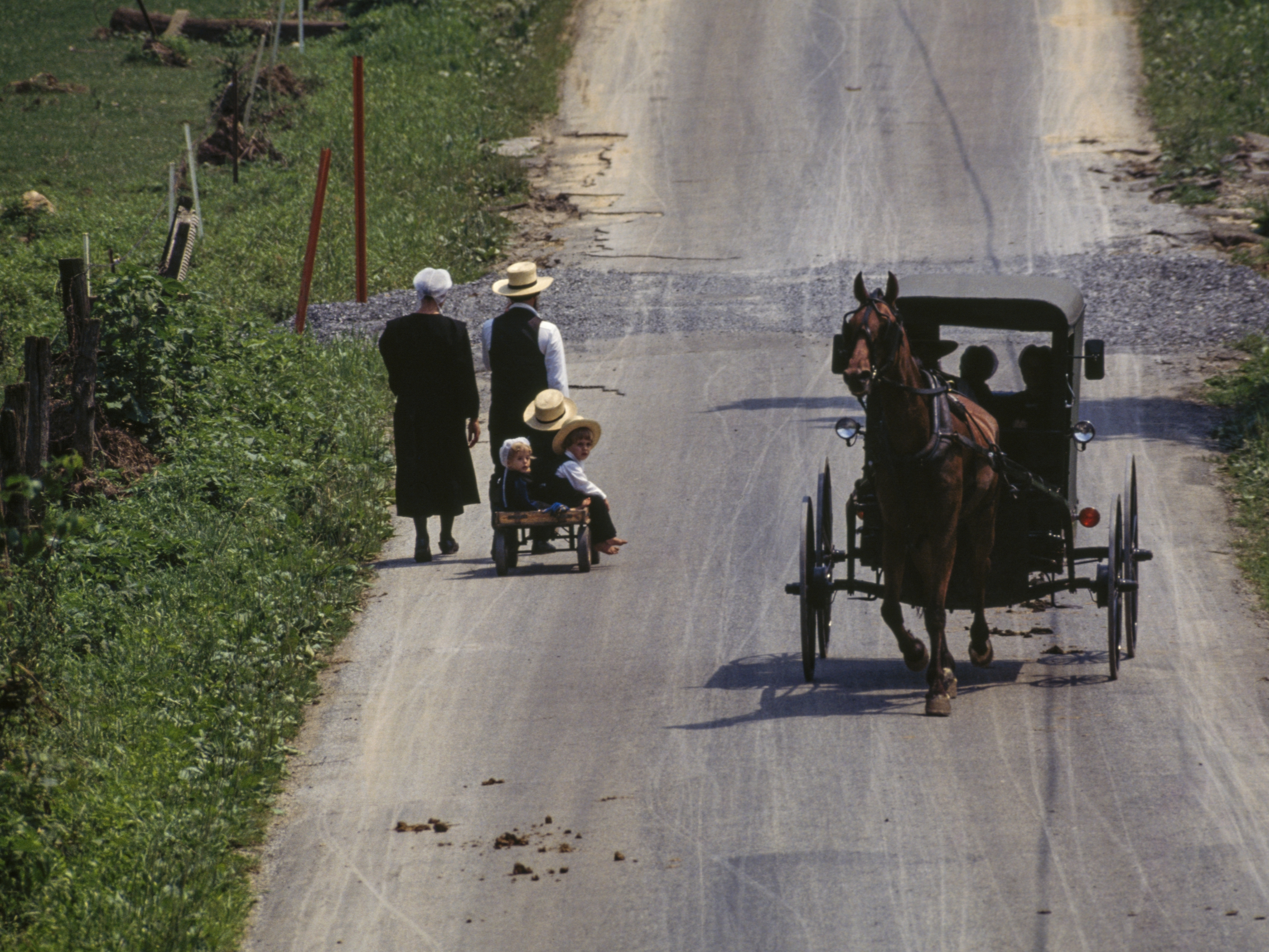 As Amish Leave Farming For Other Work Some Leave Their Homestead