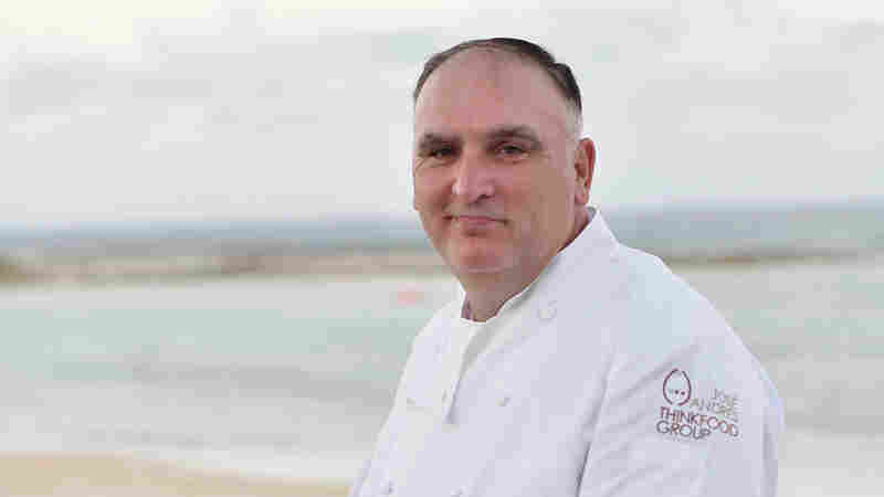 Chef José Andrés attends the weekend opening of the Cove Resort at Atlantis Paradise Island on Nov. 4, 2017, in The Bahamas.