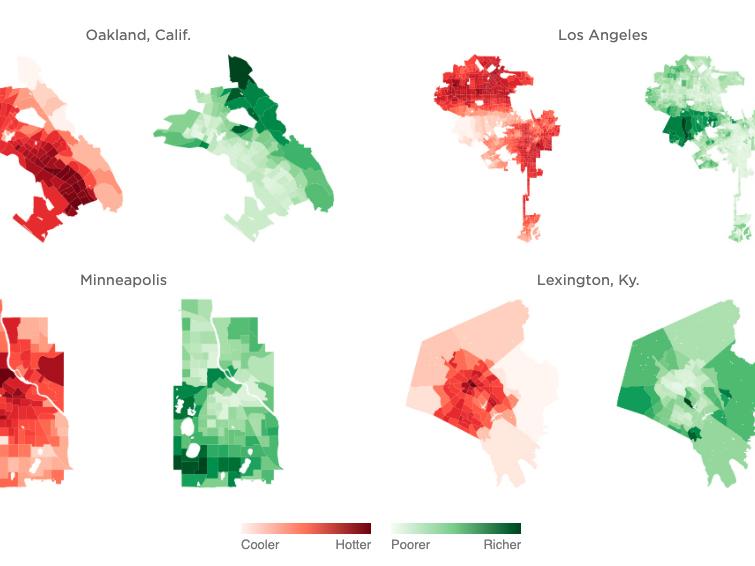 As Rising Heat Bakes U S  Cities, The Poor Often Feel It