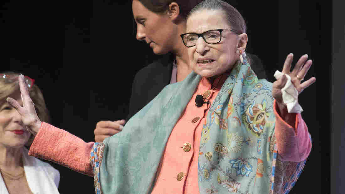 Ruth Bader Ginsburg say she's healthy following cancer treatment
