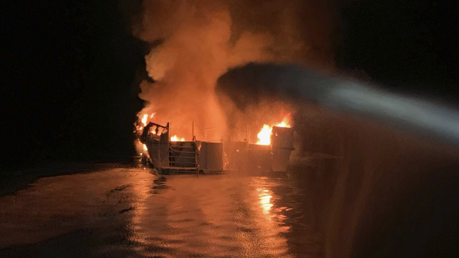 25 bodies found, 9 still missing after California boat fire
