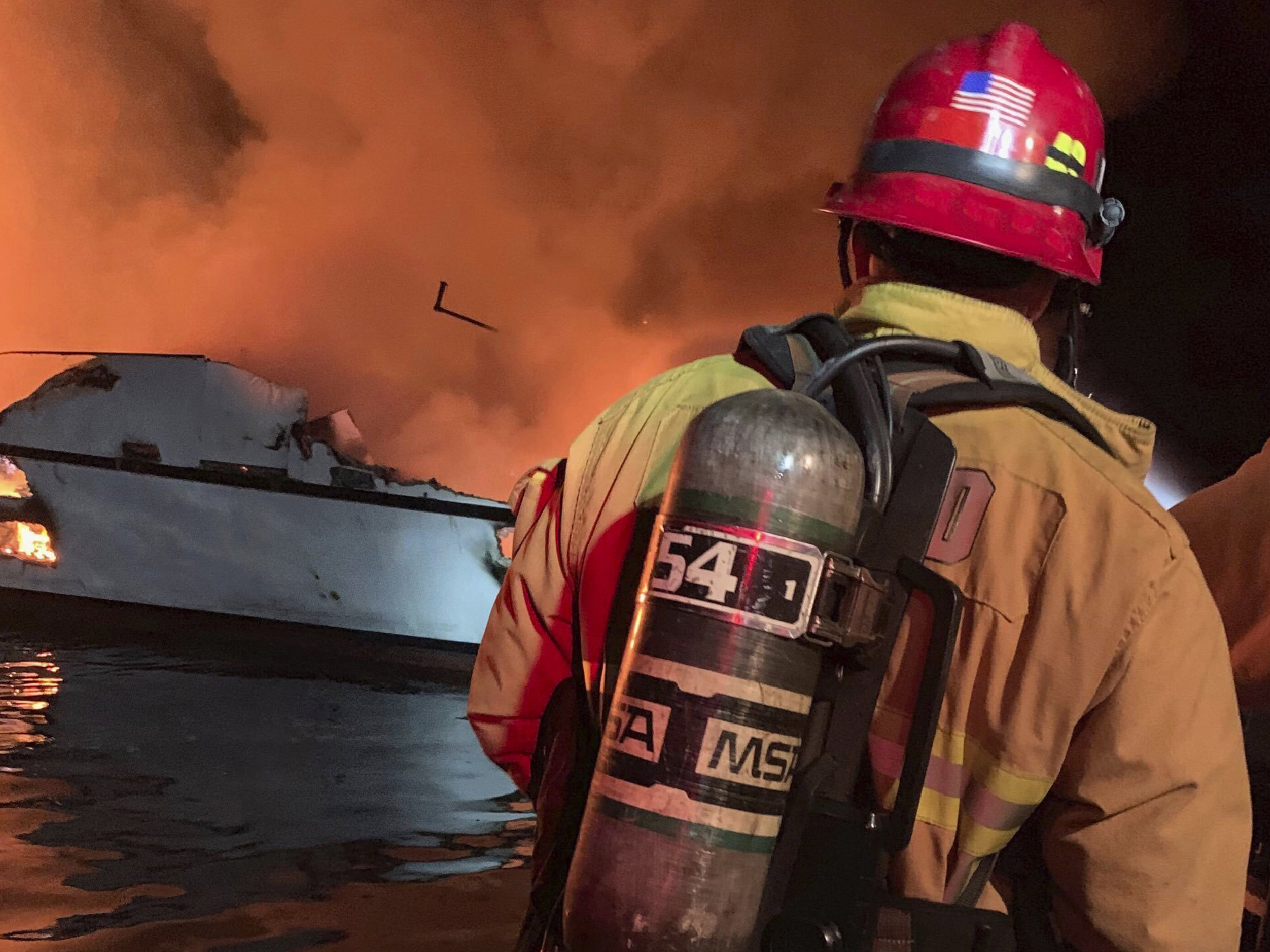 Dozens feared dead in California dive-boat fire