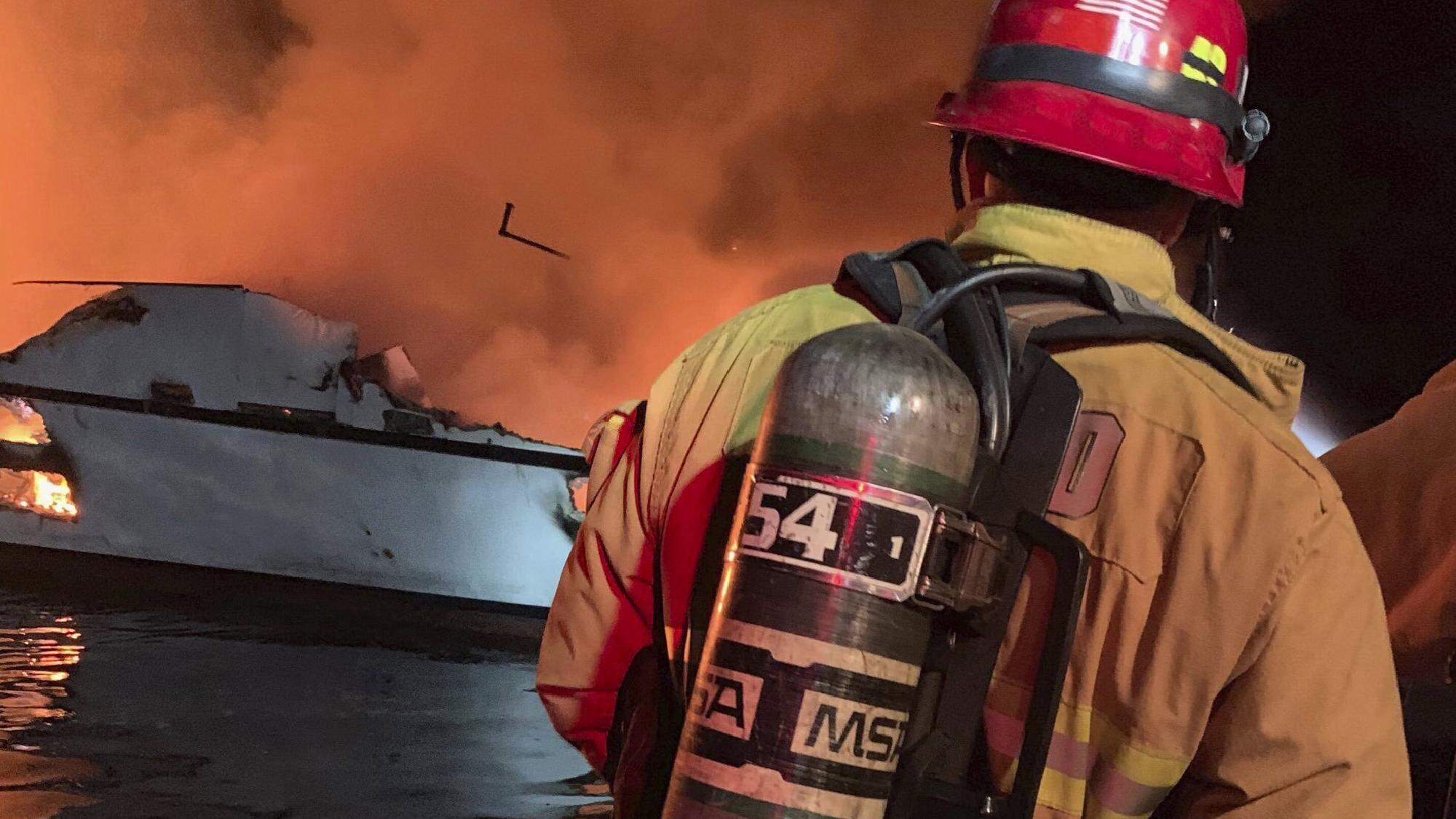 California scuba boat fire death toll rises to 25