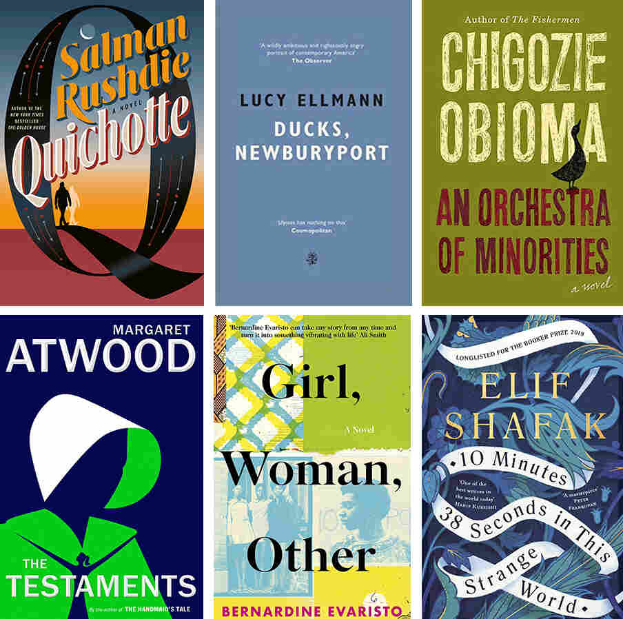 Booker Prize 2019 shortlist announced
